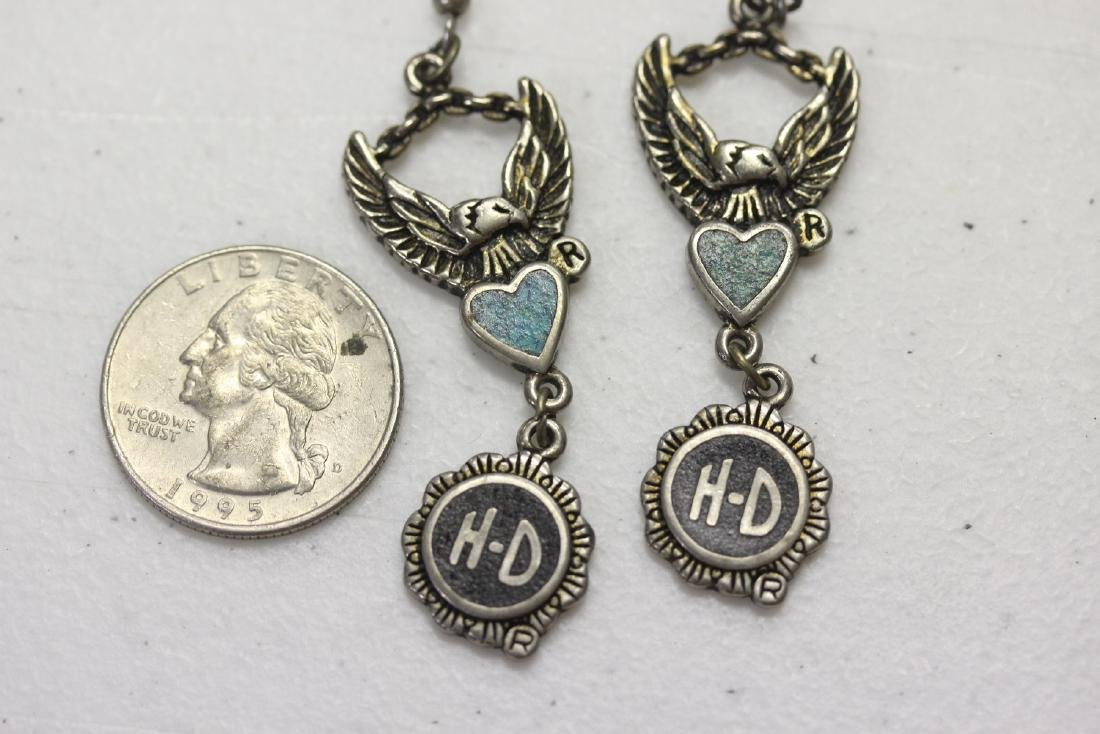 Pair of Harley Davidson Vintage Earrings - 9