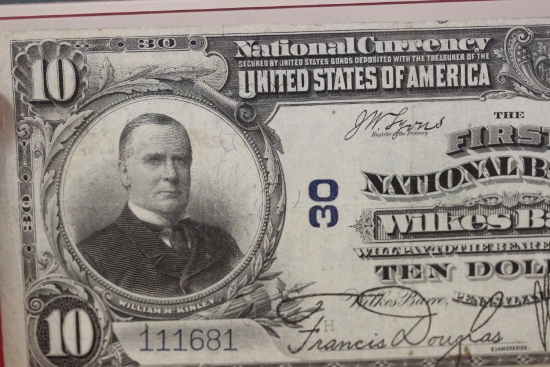 A 1902 Ten Dollar Note Horse Blanket - 6