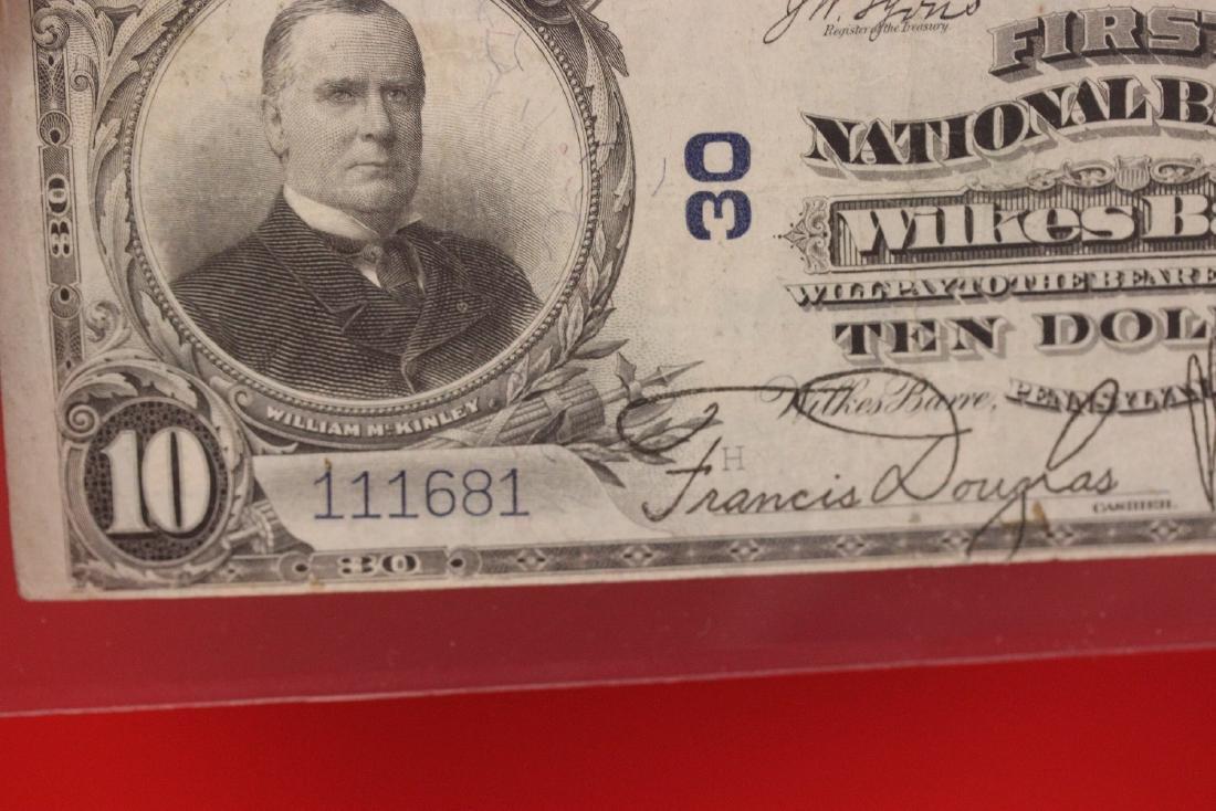 A 1902 Ten Dollar Note Horse Blanket - 7