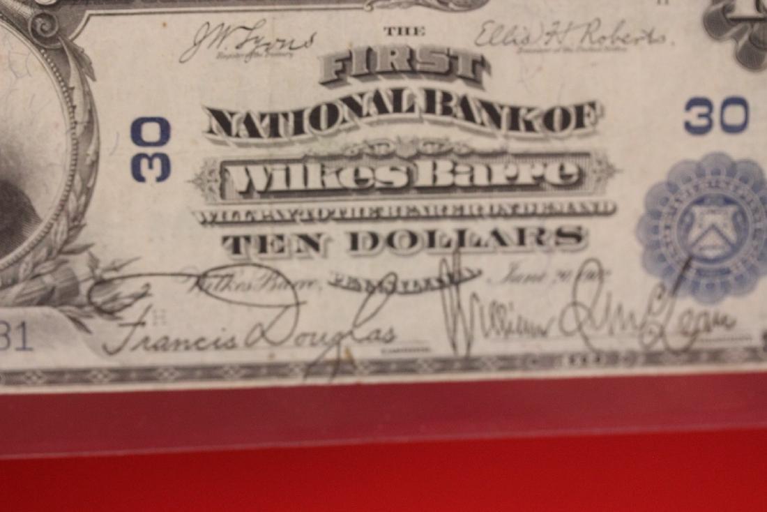 A 1902 Ten Dollar Note Horse Blanket - 8