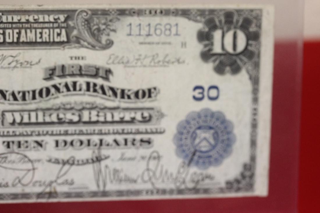 A 1902 Ten Dollar Note Horse Blanket - 9