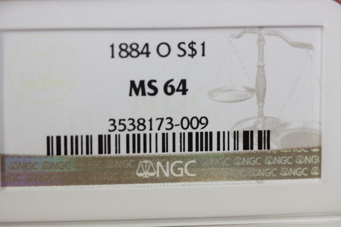 A Graded 1884-O Morgan Silver Dollar - 7