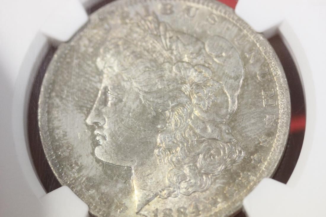 A Graded 1884-O Morgan Silver Dollar - 8