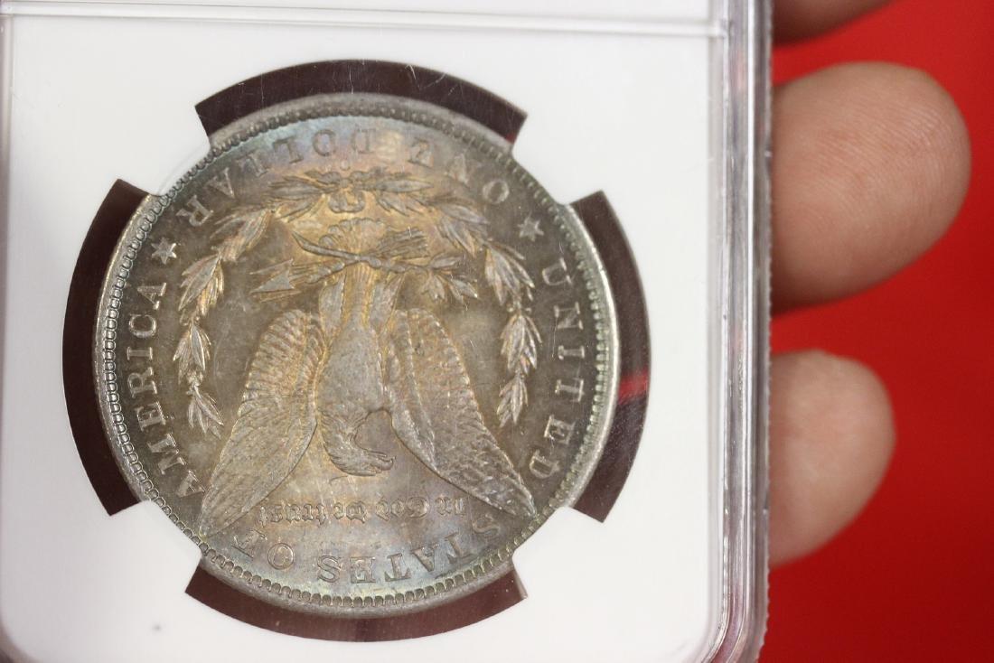 A Graded 1885-O Morgan Silver Dollar - 4