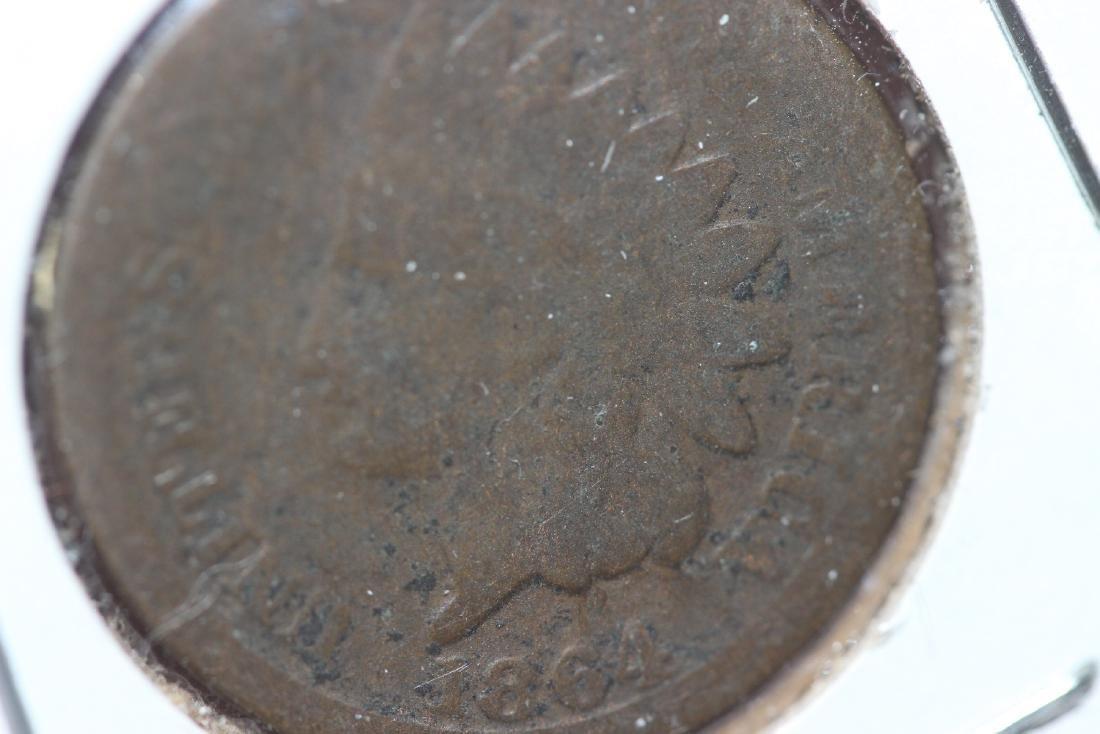 An 1864 Indian Head Penny - 2