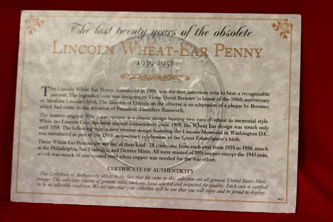 Lincoln Wheat-Ear Penny