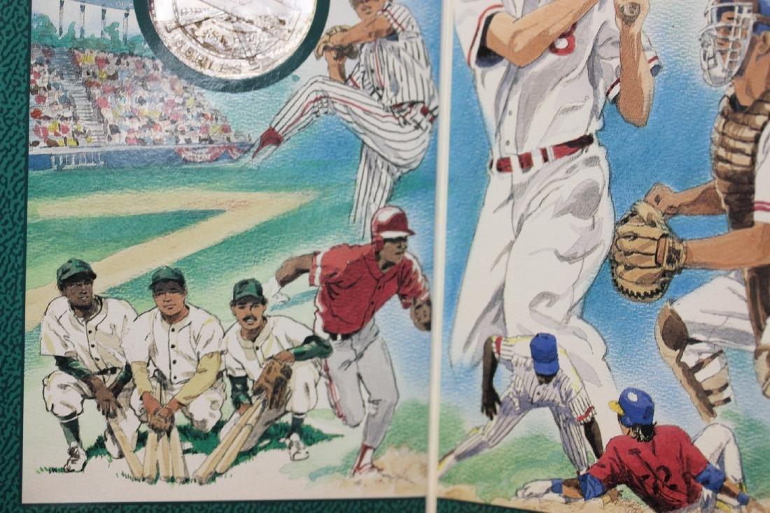 Showcase Baseball Series .999 Pure Silver Coin - 2
