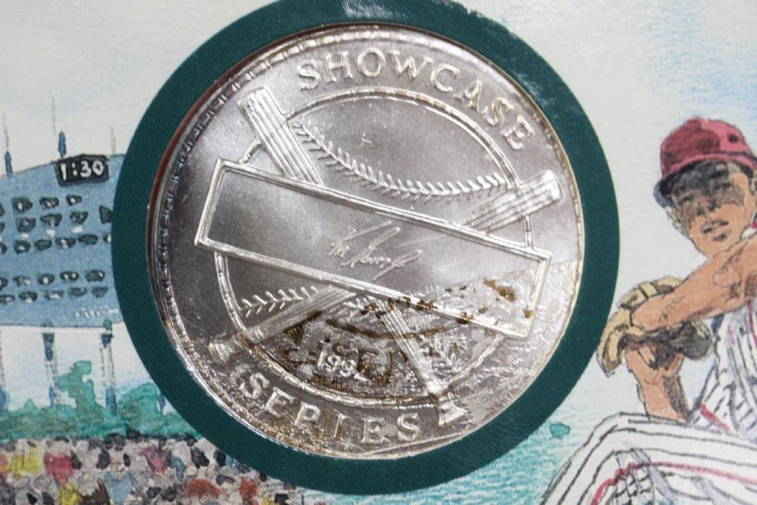 Showcase Baseball Series .999 Pure Silver Coin - 3