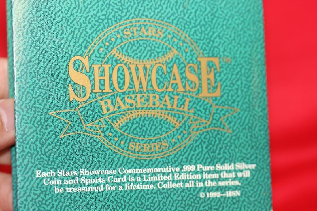 Showcase Baseball Series .999 Pure Silver Coin - 4