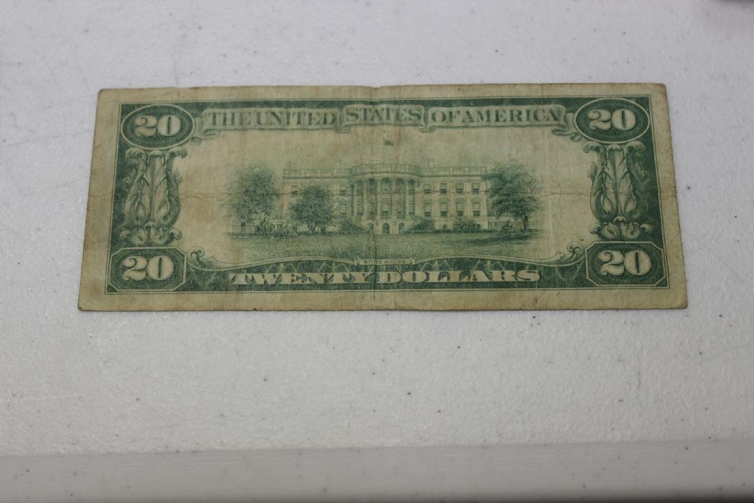 A 1928 Cleveland, Ohio Twenty Dollar Note - 4
