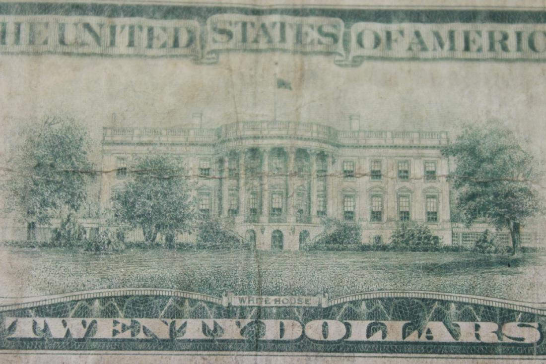 A 1928 Cleveland, Ohio Twenty Dollar Note - 5