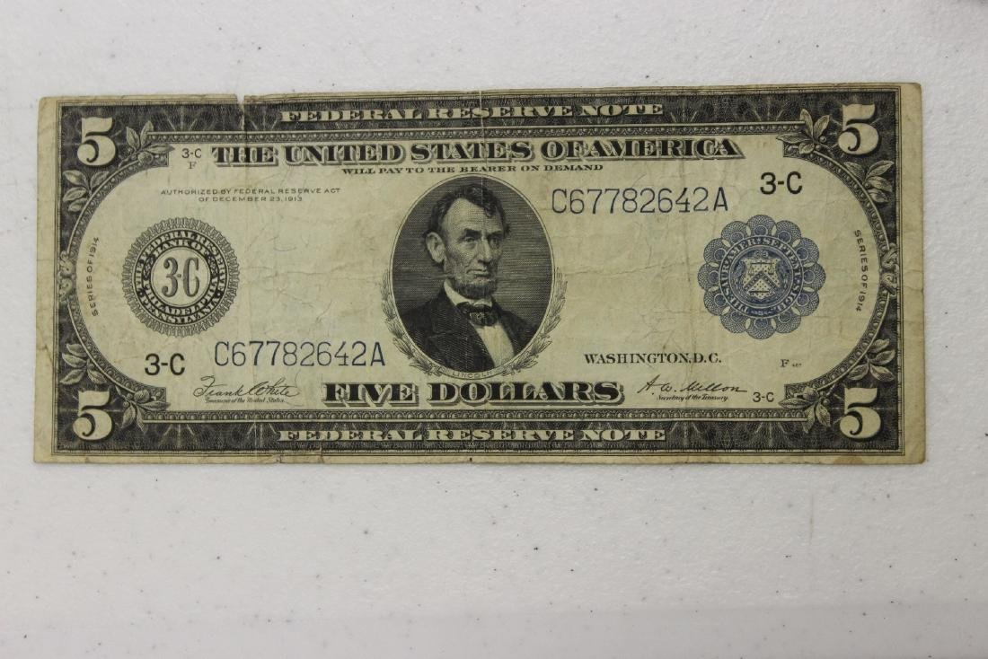 A 1914 $5.00 Note