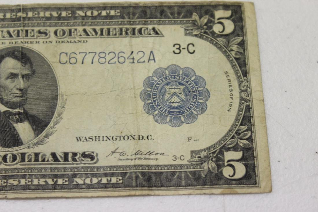 A 1914 $5.00 Note - 5