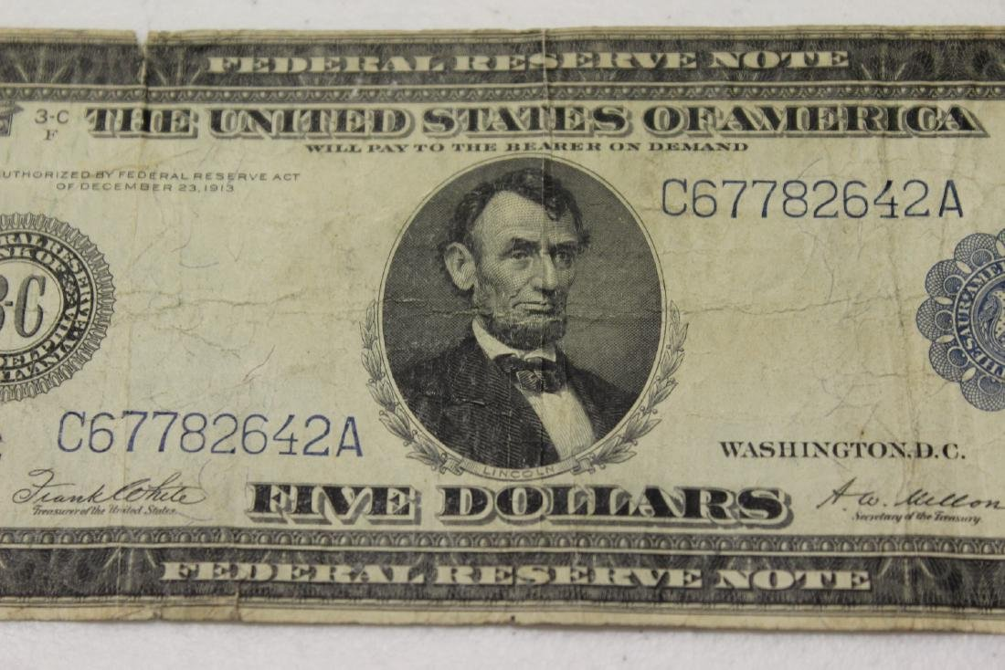 A 1914 $5.00 Note - 6