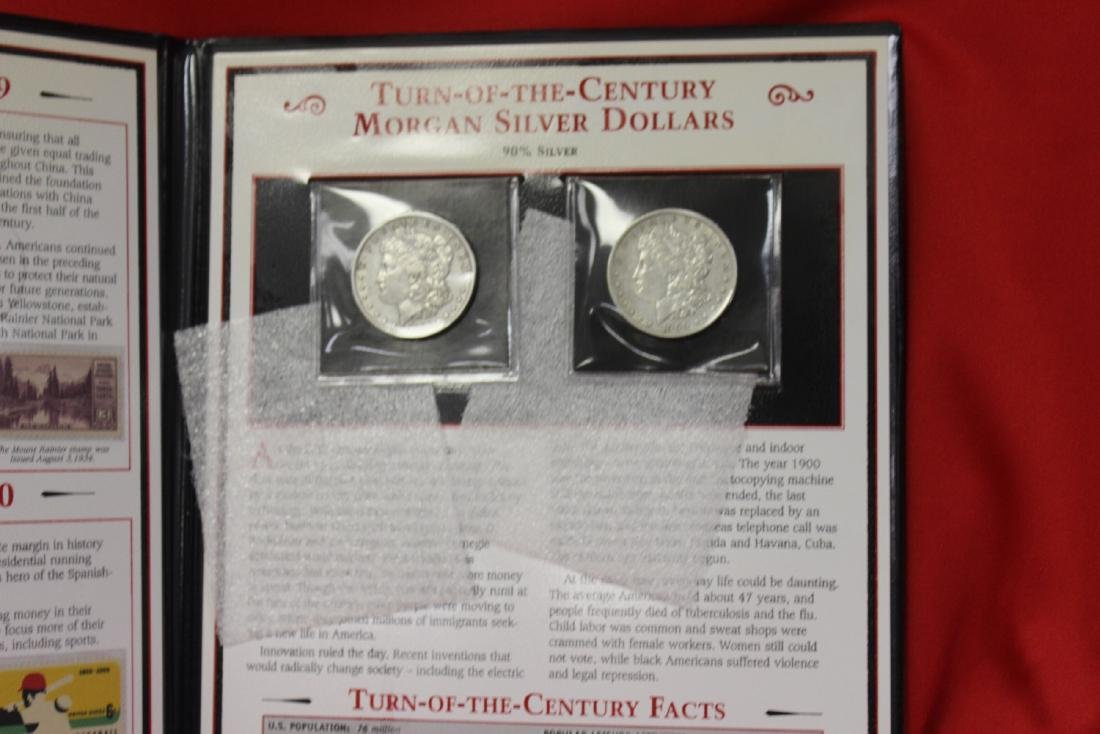 Turn of the Century Morgan Silver Dollars - 5