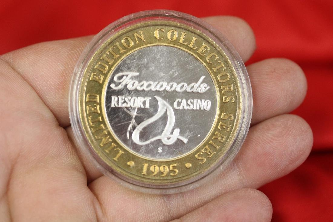 A .999 Silver Center Casino Token - 2