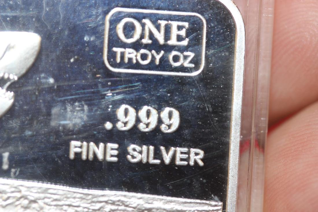 One Troy Ounce of Silver Bar - 3