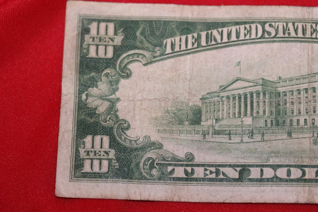 A 1928 $10.00 Note - 5