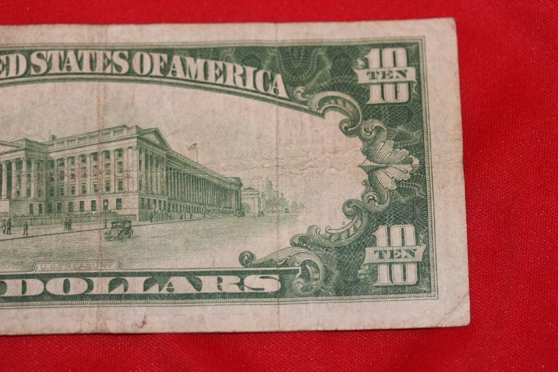 A 1928 $10.00 Note - 7