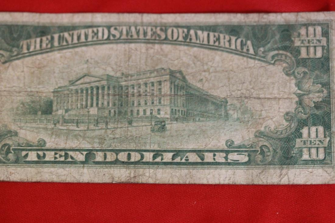A 1928 $10.00 Note - 8