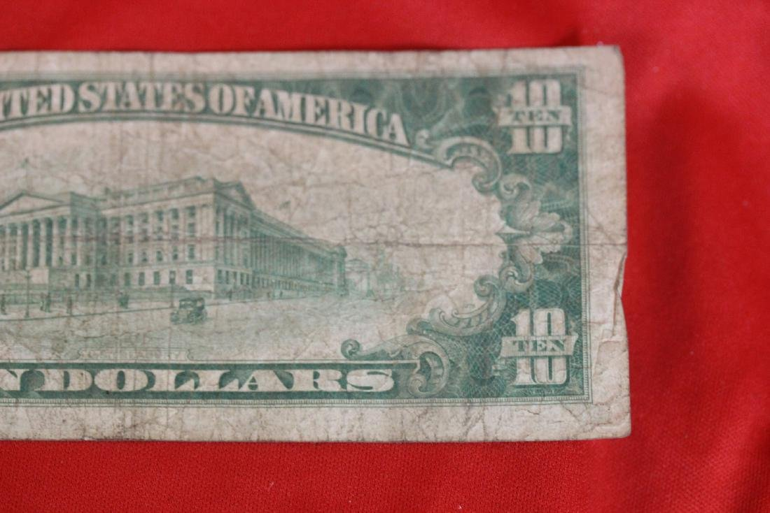 A 1928 $10.00 Note - 9