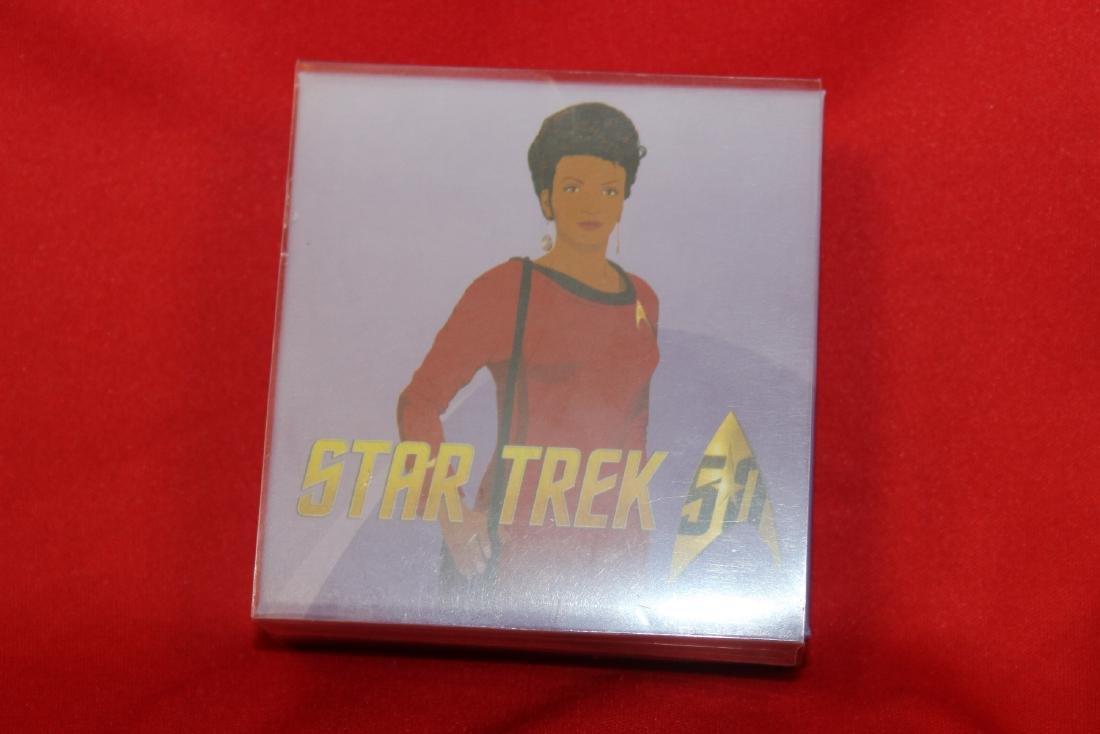A Star Trek Canada Colorized $10.00 Silver Coin