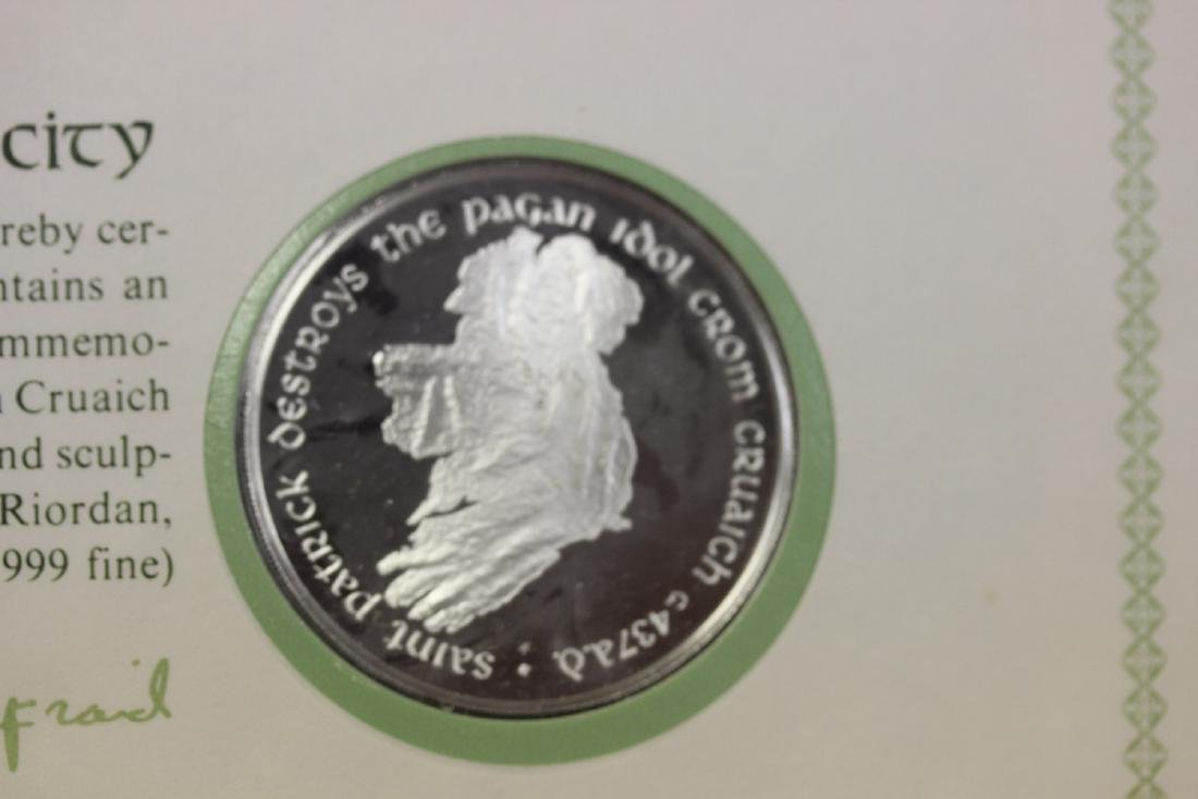 1974 St. Patrick's Day Commemorative Medal and Cachet - 2