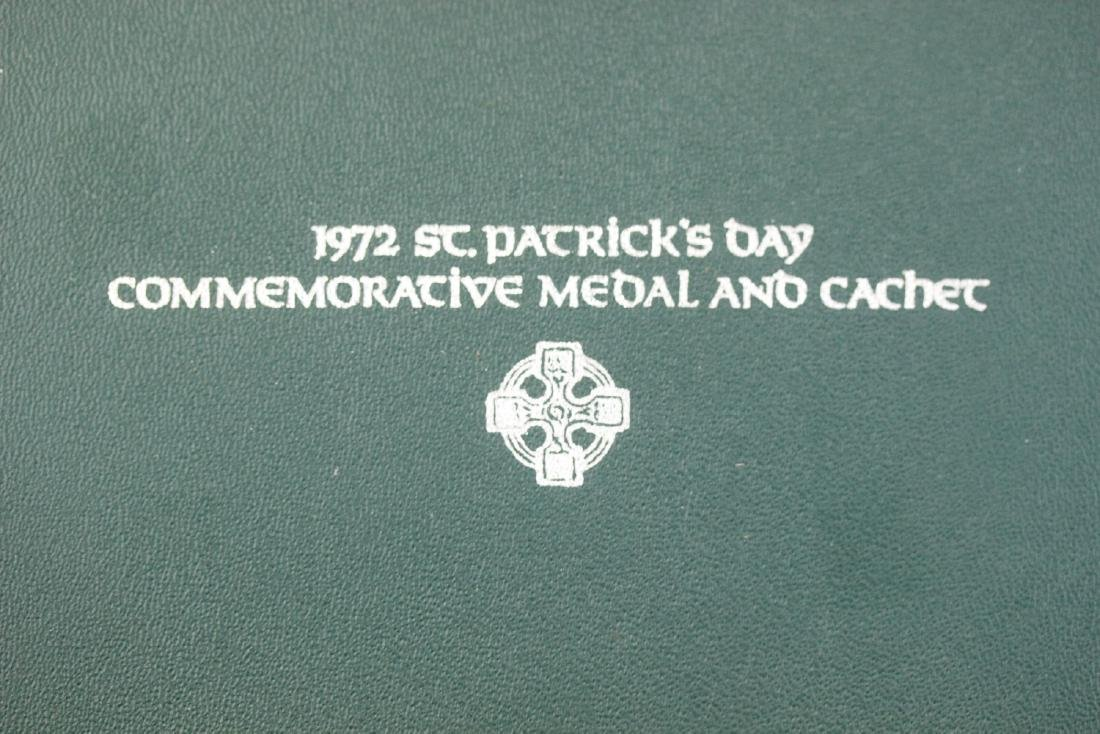 1972 St. Patrick's Day Commemorative Medal and Cachet