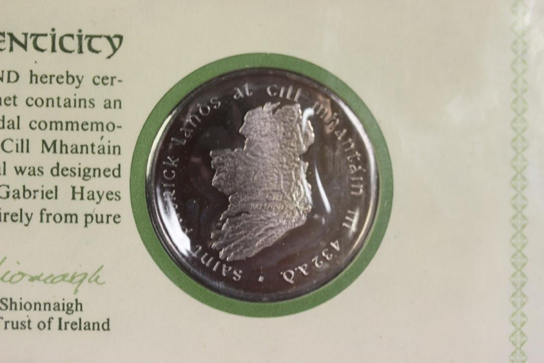 1972 St. Patrick's Day Commemorative Medal and Cachet - 2