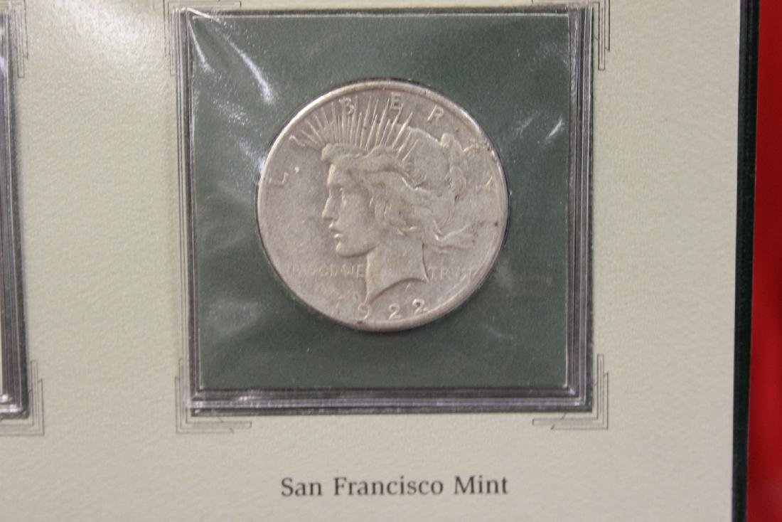 The Peace Silver Dollars and Stamps Collection - 4