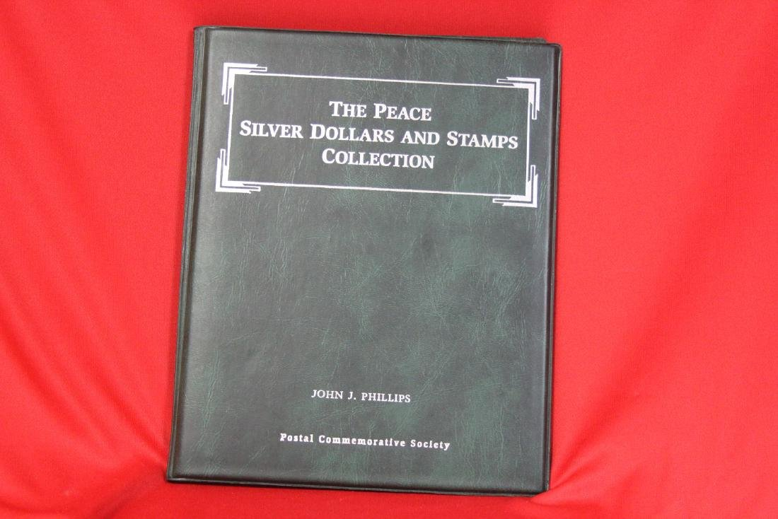 The Peace Silver Dollars and Stamps Collection - 5