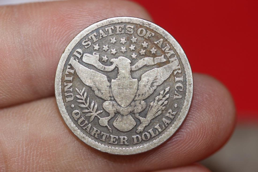 An 1894 Barber Quarter - 2