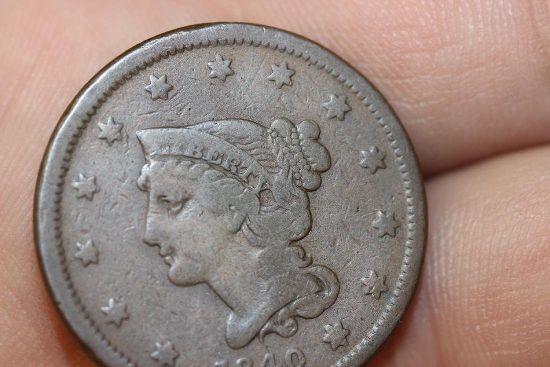 An 1840 Large Cent - 3