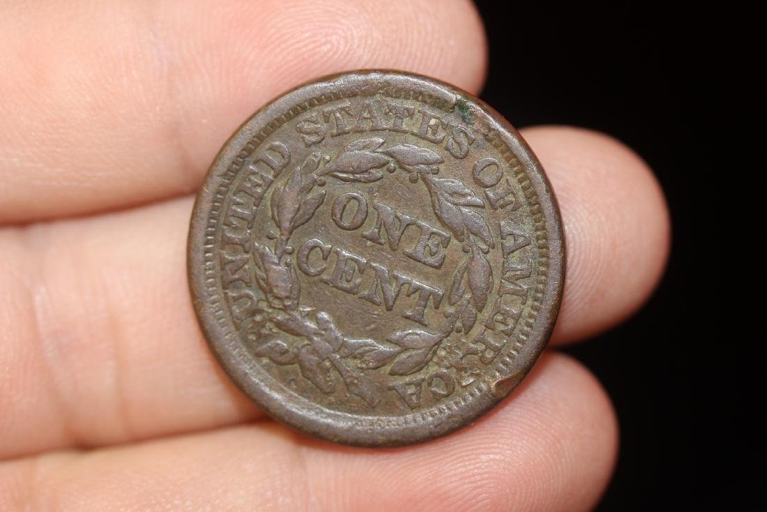 An 1856 Large Cent - 4