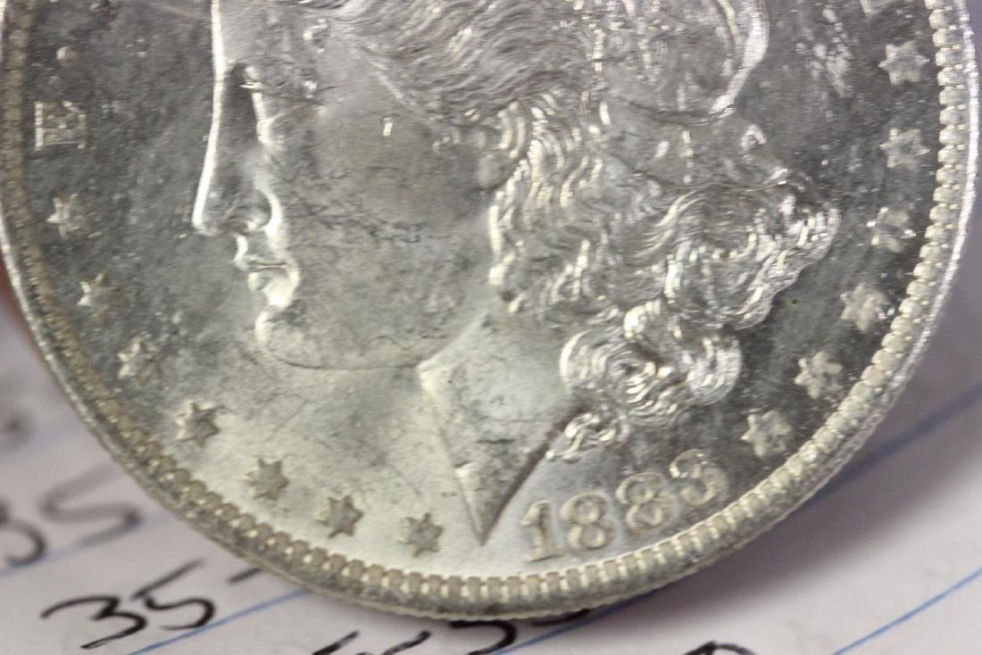 An 1883-O Morgan Silver Dollar - 9
