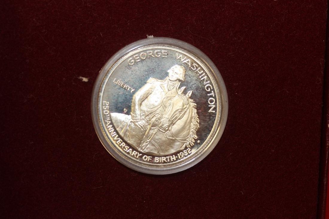 A George Washington Silver Coin