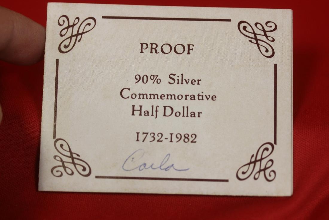 A George Washington Silver Coin - 2