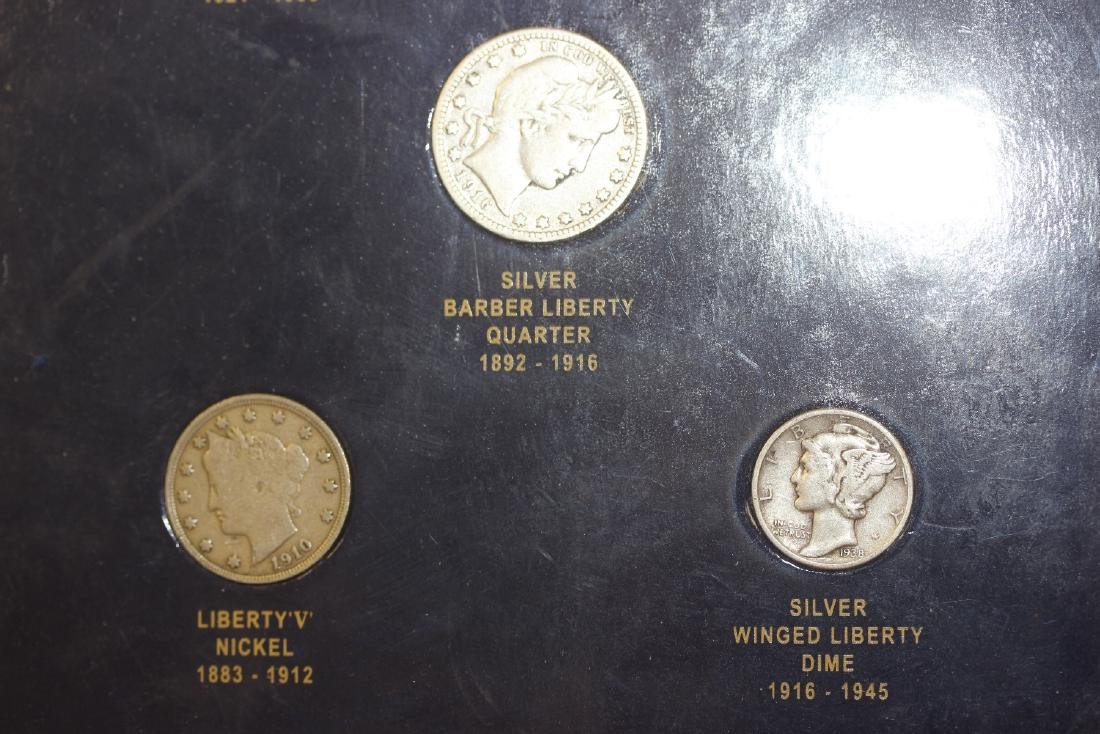 US Commemorative Five Coin Set - 2
