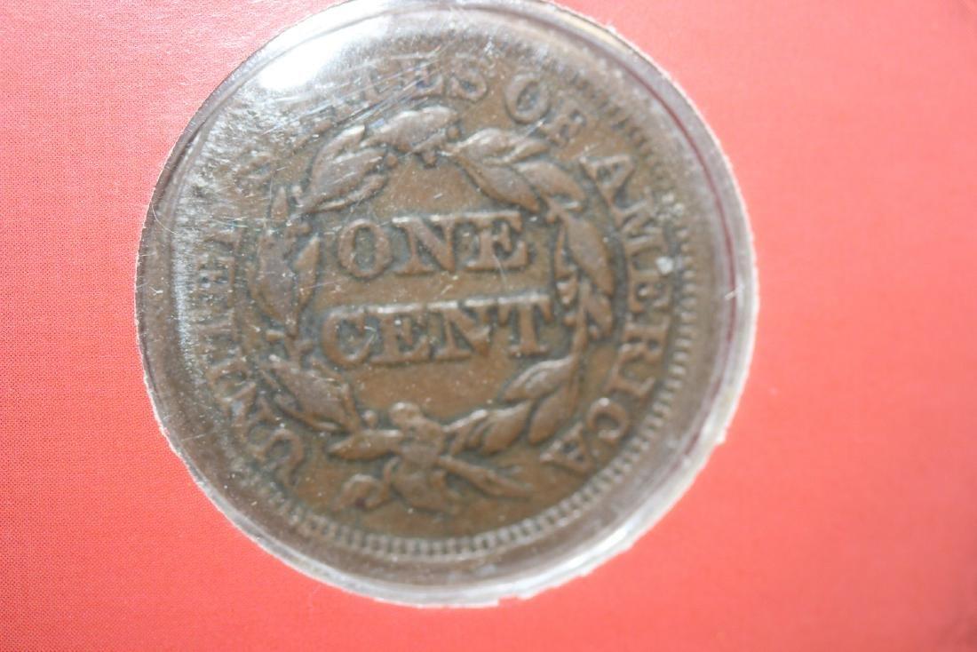 An 1853 Liberty Head Large Cent - 3