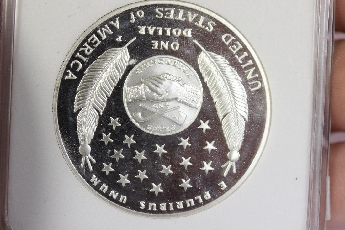 A 2010 P Lewis and Clark Silver Commemorative Coin - 3