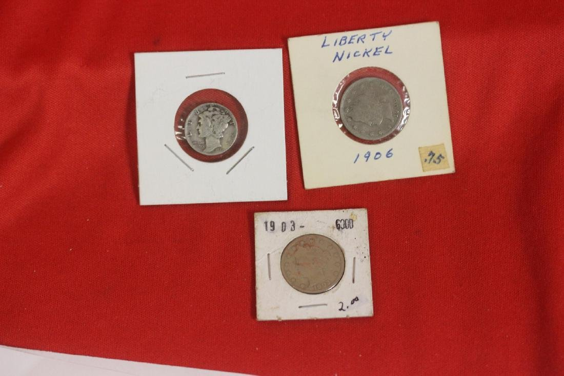 Lot of 3 Coins
