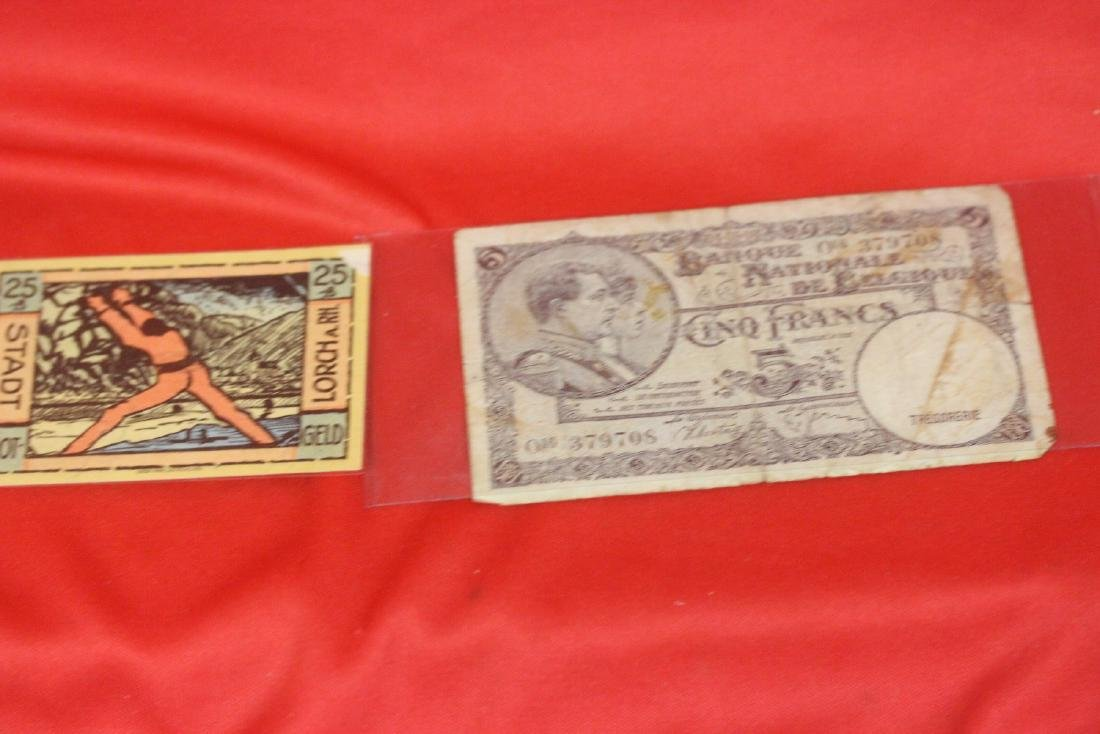 Lot of Two Foreign Currencies