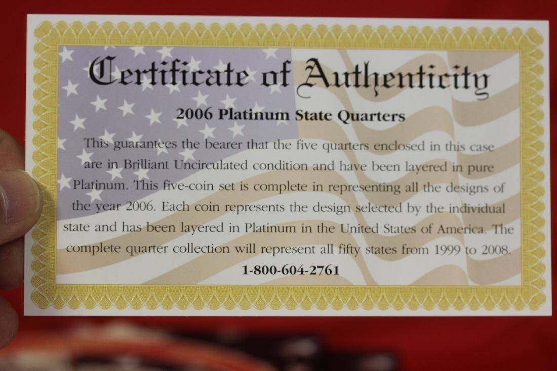 2006 Platinum Edition State Quarter Collection - 2