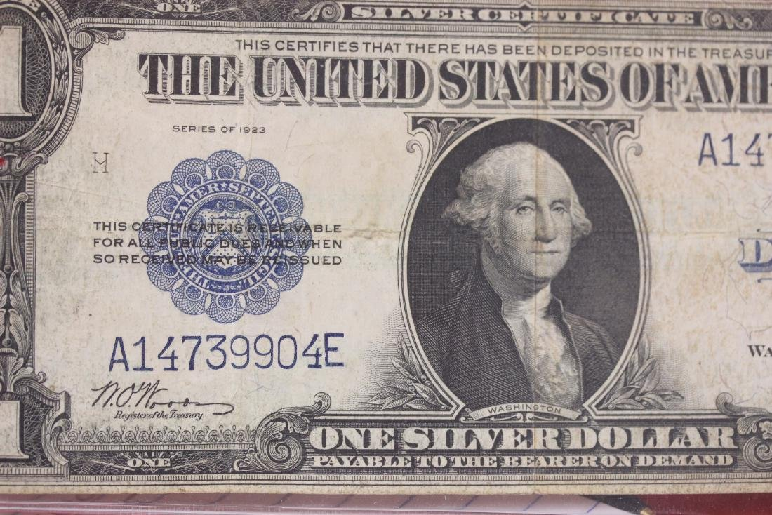 1923 US Silver Certificate Horse Blanket - 3