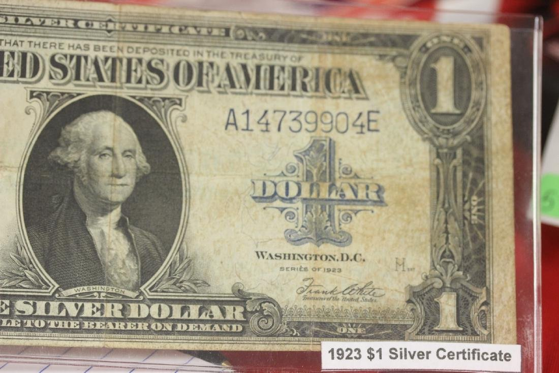 1923 US Silver Certificate Horse Blanket - 4