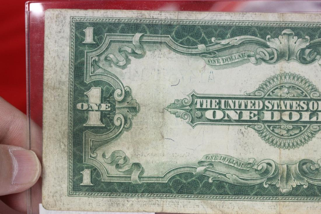 1923 US Silver Certificate Horse Blanket - 7