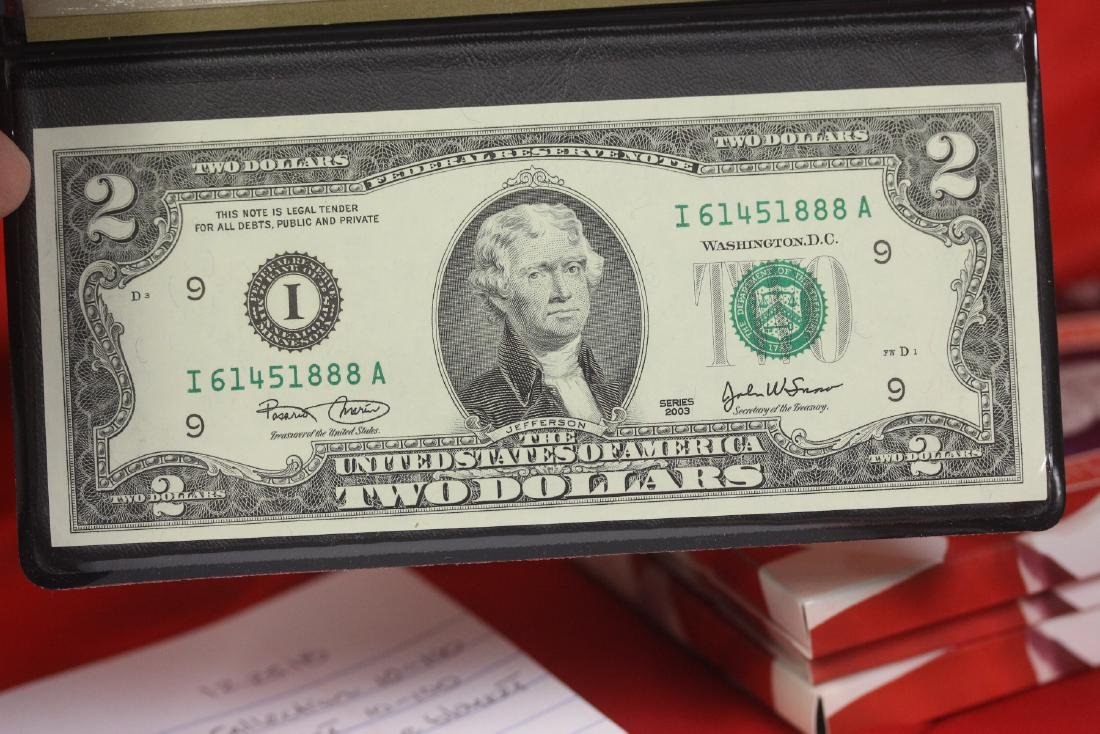 An Uncirculated $2.00 Note
