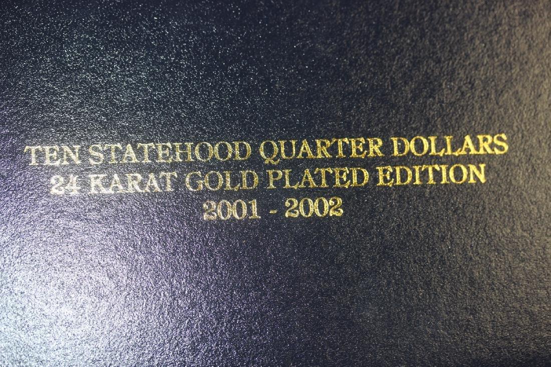 Ten Statehood Quarter Dollars - 4