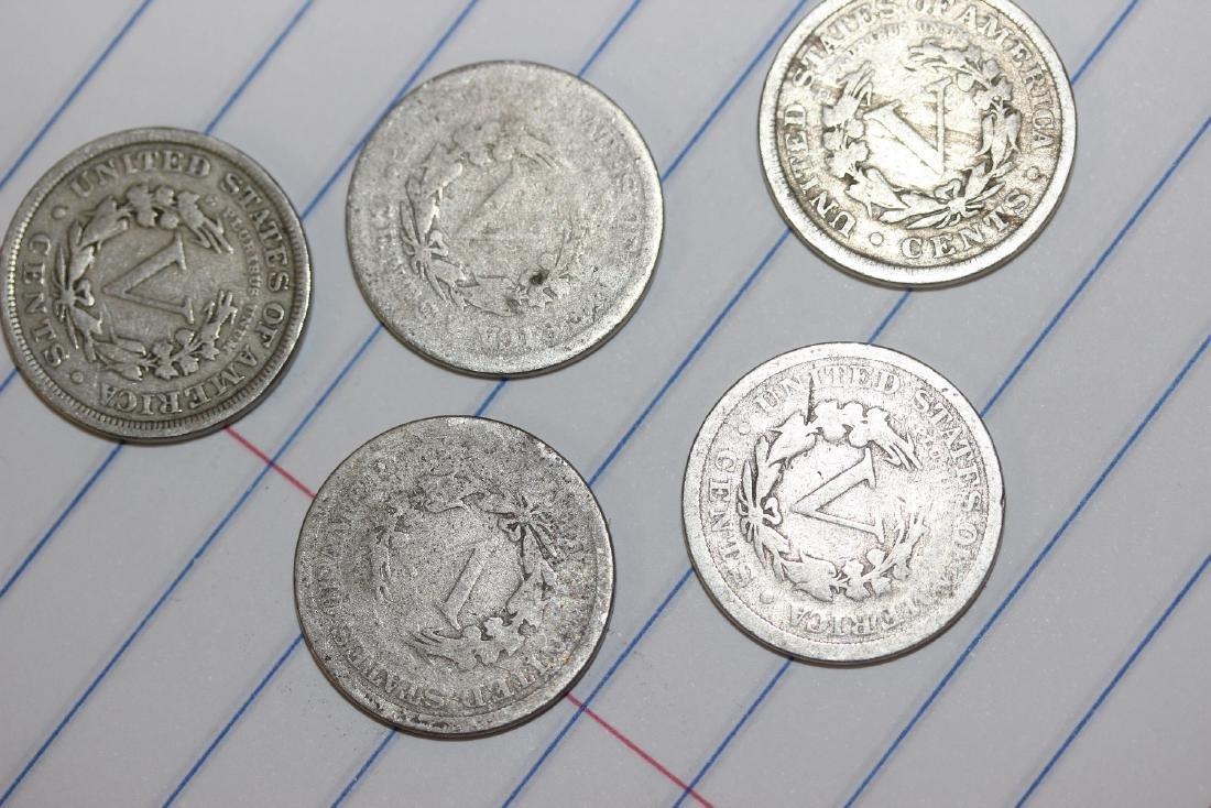 Lot of 5 V Nickels - 2