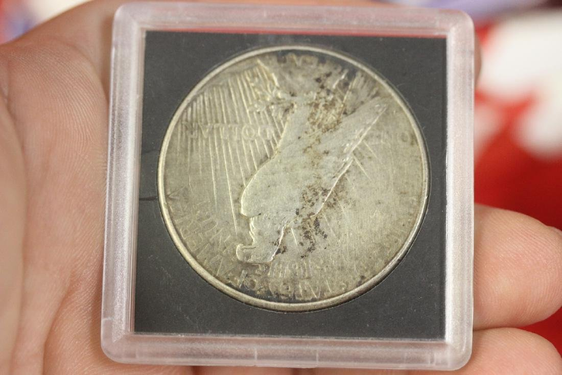A 1923-S Peace Silver Dollar